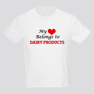 My Heart Belongs to Dairy Products T-Shirt