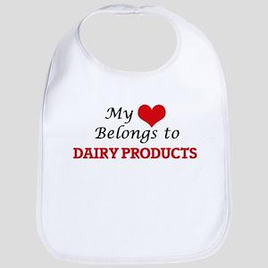 My Heart Belongs to Dairy Products Bib