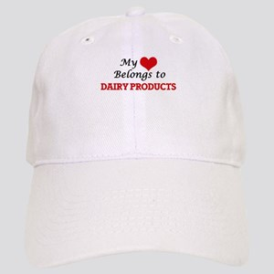 My Heart Belongs to Dairy Products Cap