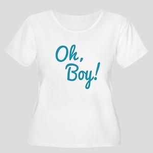 Oh,boy! Plus Size T-Shirt