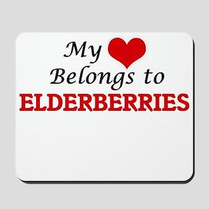 My Heart Belongs to Elderberries Mousepad