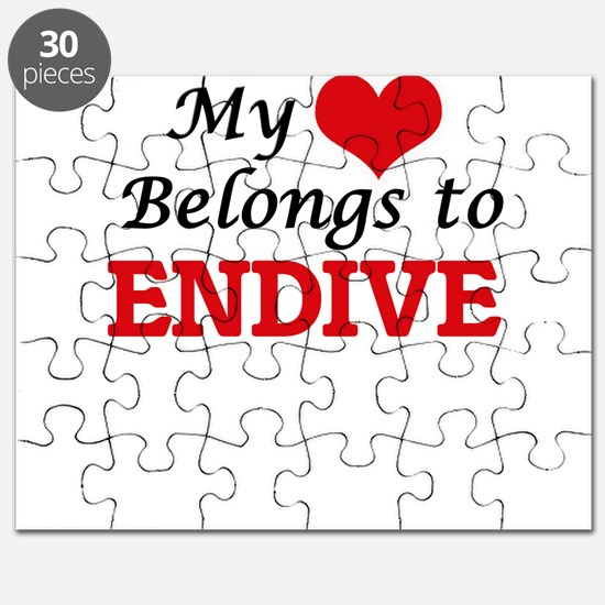 My Heart Belongs to Endive Puzzle