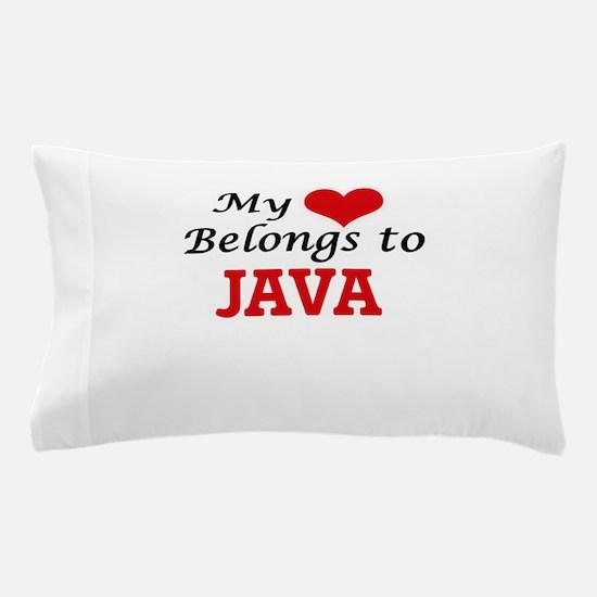My Heart Belongs to Java Pillow Case