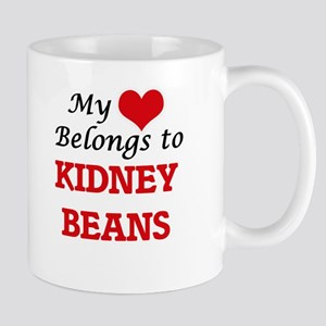 My Heart Belongs to Kidney Beans Mugs