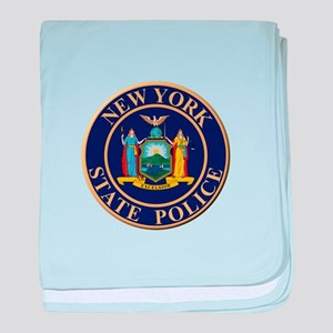 Police for the state of New York baby blanket
