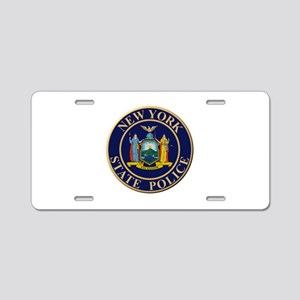 Police for the state of New York Aluminum License
