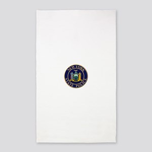 Police for the state of New York Area Rug