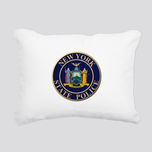 Police for the state of New York Rectangular Canva