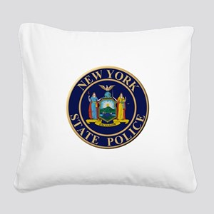 Police for the state of New York Square Canvas Pil