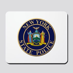 Police for the state of New York Mousepad