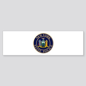 Police for the state of New York Bumper Sticker