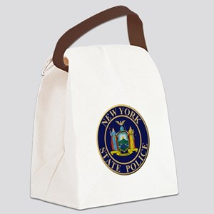 Police for the state of New York Canvas Lunch Bag