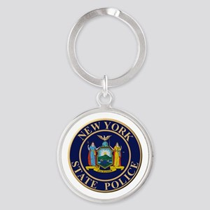 Police for the state of New York Keychains