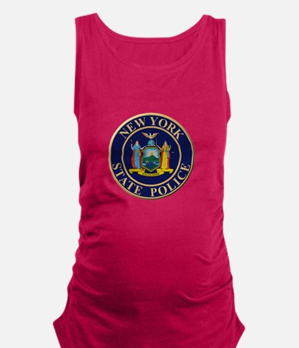 Police for the state of New York Maternity Tank To