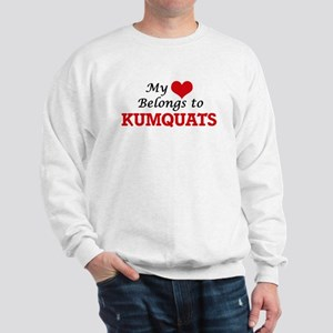 My Heart Belongs to Kumquats Sweatshirt
