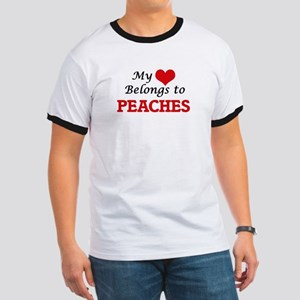 My Heart Belongs to Peaches T-Shirt