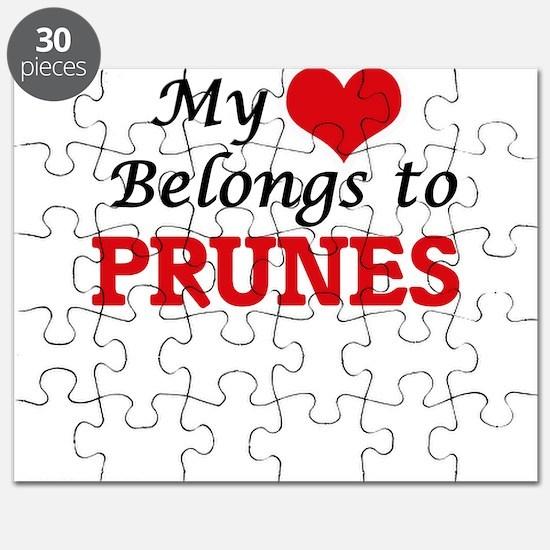 My Heart Belongs to Prunes Puzzle