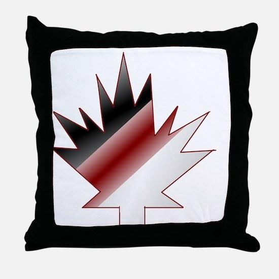 Cute Canadian hockey Throw Pillow
