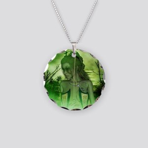 Wonderful fairy in the night Necklace