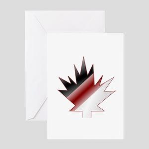 Maple Leaf Greeting Cards