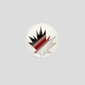 Maple Leaf Mini Button