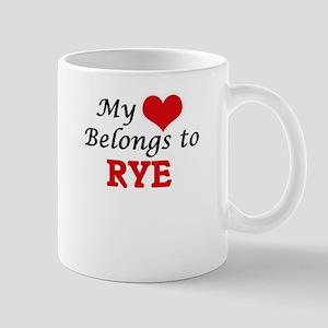 My Heart Belongs to Rye Mugs
