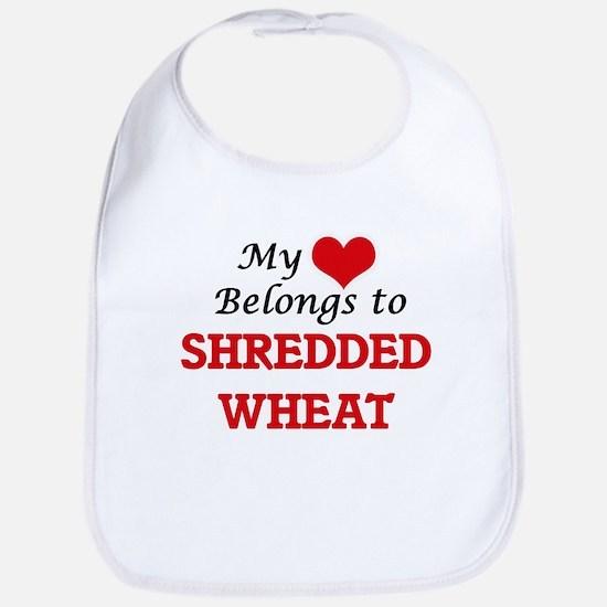 My Heart Belongs to Shredded Wheat Bib