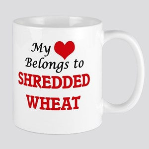 My Heart Belongs to Shredded Wheat Mugs