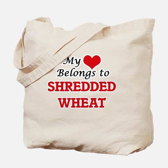 My Heart Belongs to Shredded Wheat Tote Bag