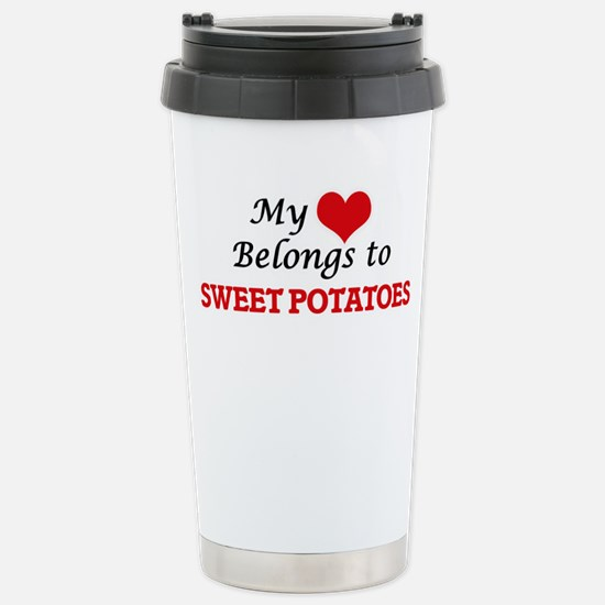 My Heart Belongs to Swe Stainless Steel Travel Mug