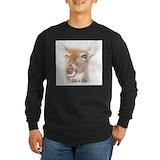 Dillie deer Long Sleeve Dark T-Shirts