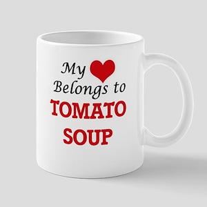 My Heart Belongs to Tomato Soup Mugs