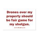 Drones R Fair Game Mini Poster Print
