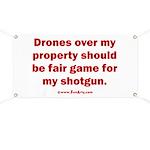 Drones R Fair Game Banner
