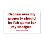 Drones R Fair Game 20x12 Wall Decal