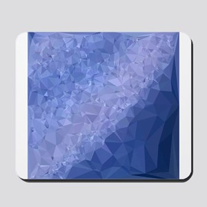 Steel Blue Abstract Low Polygon Background Mousepa