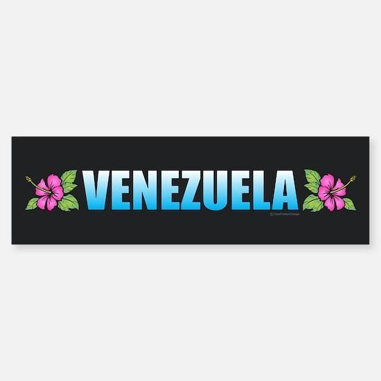 Venezuela Bumper Bumper Bumper Sticker