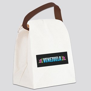Venezuela Canvas Lunch Bag