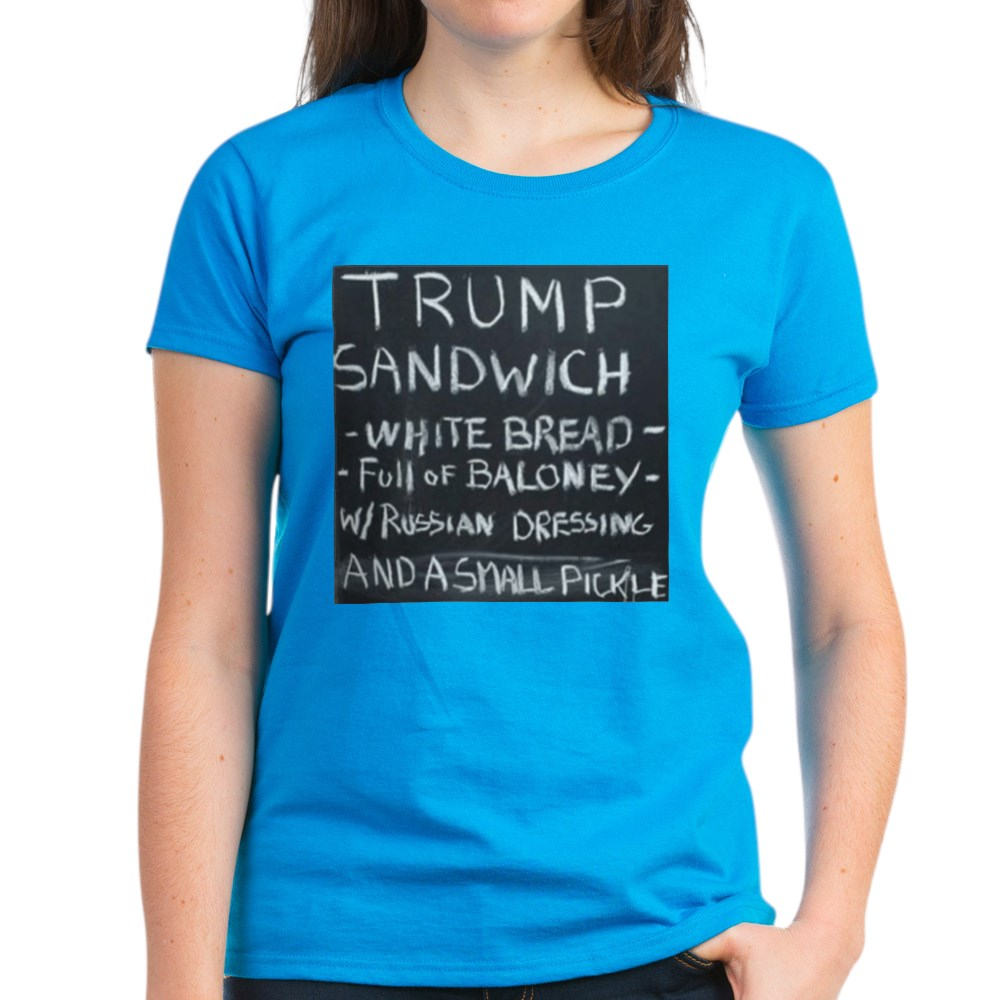 CafePress-Trump-Sandwich-T-Shirt-Women-039-s-Cotton-T-Shirt-1942120543 thumbnail 47