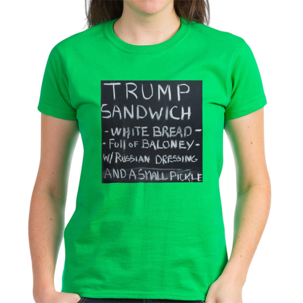 CafePress-Trump-Sandwich-T-Shirt-Women-039-s-Cotton-T-Shirt-1942120543 thumbnail 61