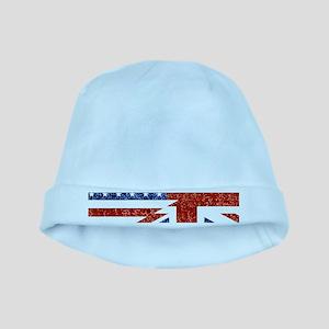glitter usa uk baby hat