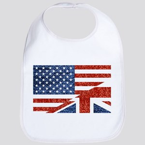 glitter usa uk Bib