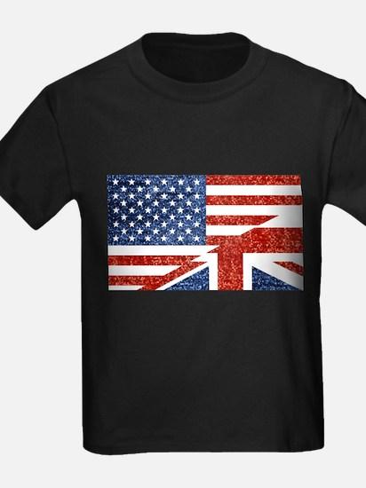 glitter usa uk T-Shirt