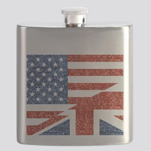 glitter usa uk Flask