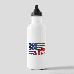 glitter usa uk Stainless Water Bottle 1.0L
