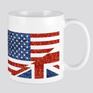 glitter usa uk Mugs