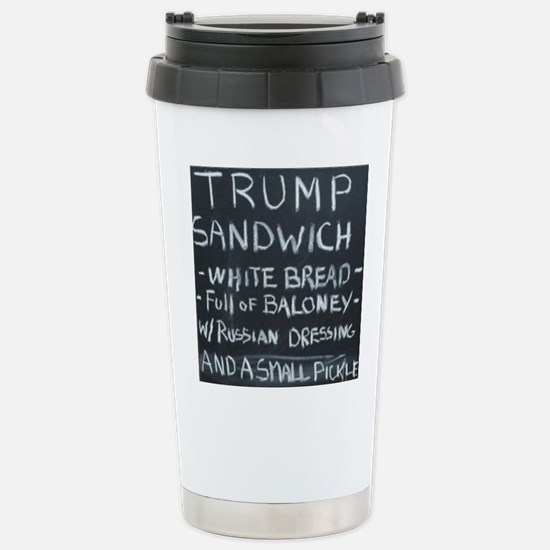 Trump Sandwich Stainless Steel Travel Mug