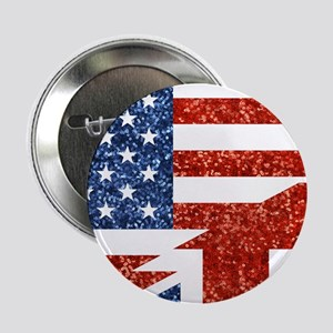 "glitter usa uk 2.25"" Button (100 pack)"