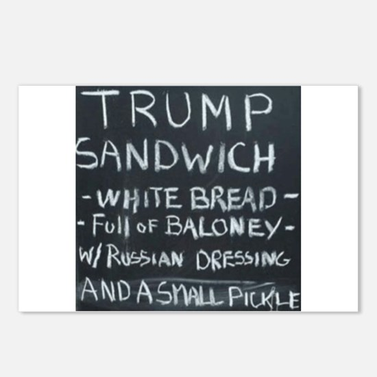 Trump Sandwich Postcards (Package of 8)