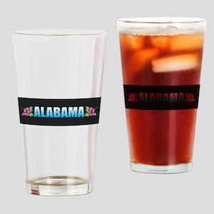 Alabama Drinking Glass
